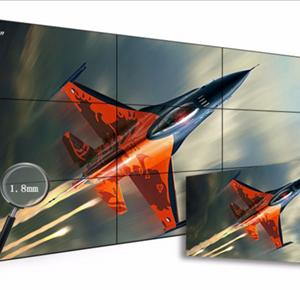 55寸液晶拼接屏显示单元_1.7mm拼缝的拼接墙